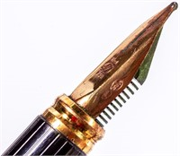 Vintage ST Dupont Fountain Pen with 18kt Nib