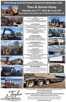 Theo Kamp Sand & Gravel Equipment Reduction