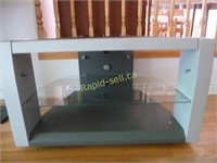 Metal & Glass TV Stand