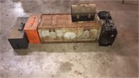 chests, toolbox, lunch pale, ammo crate