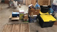 tubs, coolers, household