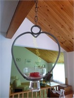 2 Hanging Candle Holders