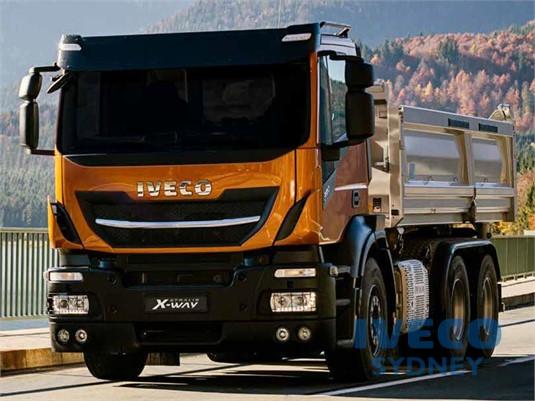 Iveco Stralis X-way 6x4 Rigid AT