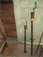 (2) Wood Clamps