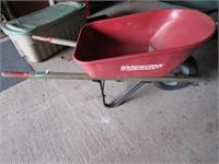 Yardworks Metal Wheel Barrow