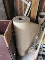 Loose Contents of Wall: Round End Table, Roll of