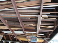 Loose Contents of Rafters: Wood Poles, Boat Paddle