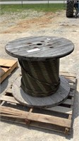 "Spool of 7/8"" Braided Steel-"