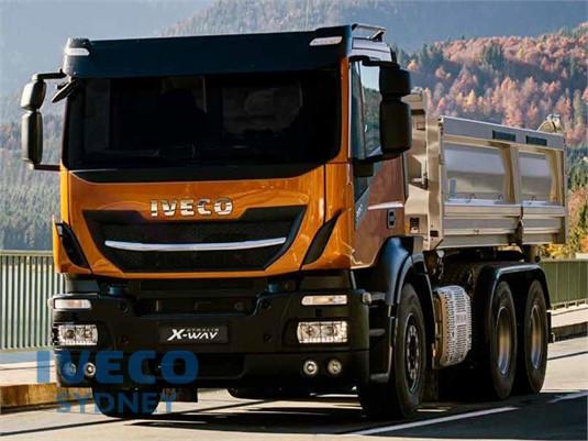 Iveco Stralis X-way 8x4 Rigid AD