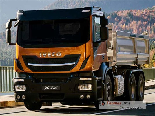 Iveco Stralis X-way 8x4 Rigid AD