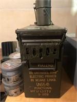 Ammo Box, Tobacco Tins