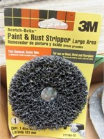 Wire Wheels, 3M Paint & Rust Remover Stripper