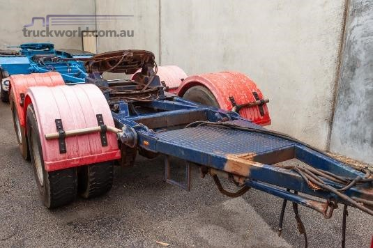 1990 Fruehauf Dolly Trailers for Sale