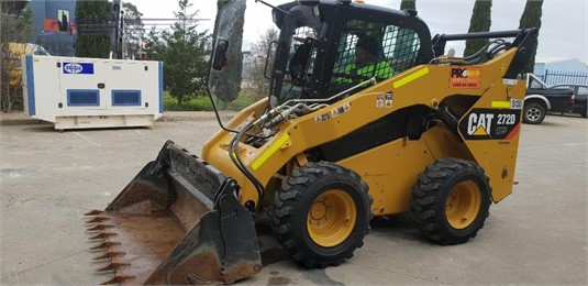2012 Caterpillar 272D XHP Heavy Machinery for Sale