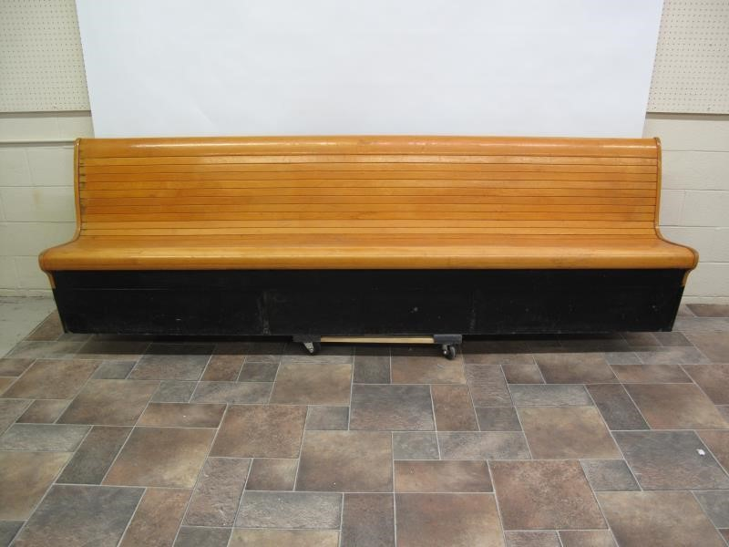 Brilliant Brunswick Bowling Alley Bench Hodgins Art Auctions Ltd Gmtry Best Dining Table And Chair Ideas Images Gmtryco