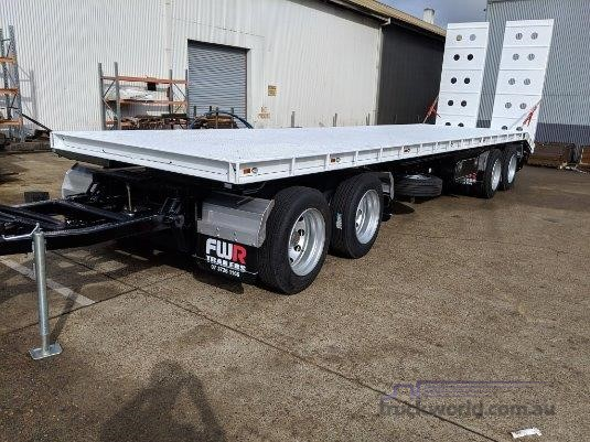 2020 FWR 4 Axle Dog Trailer - Trailers for Sale