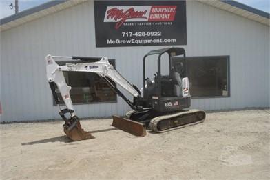 BOBCAT E35I Mini Excavator Auction Results - 1 Listings