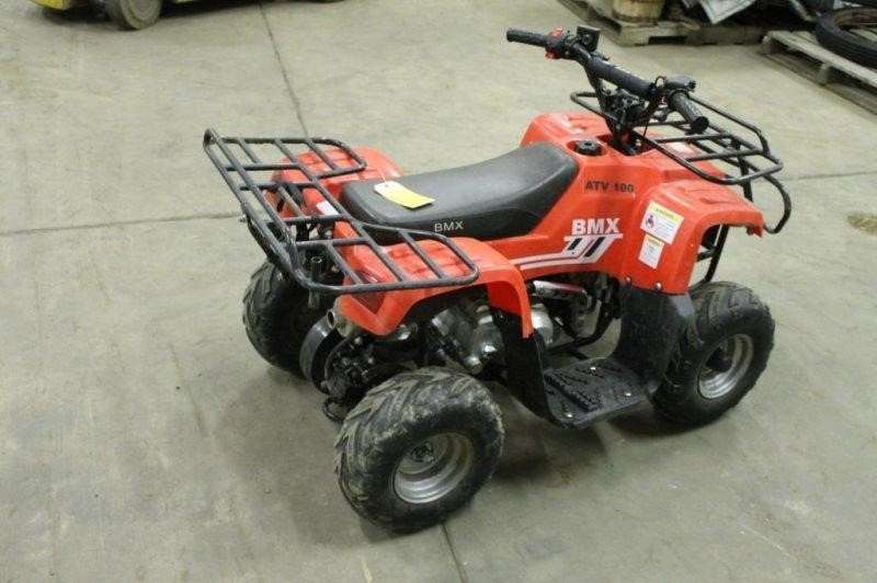 BMX 100 KIDS ATV, HAS REMOTE KILL SWITCH, BOX OF | Smith Sales LLC