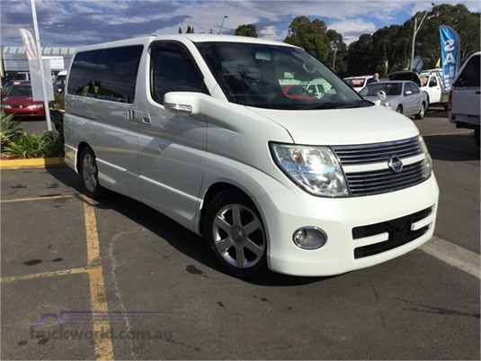 2008 Nissan Elgrand Light Commercial for Sale