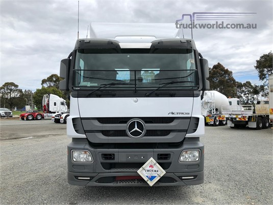 2012 Mercedes Benz Actros 2644 All Star Equipment Sales - Trucks for Sale