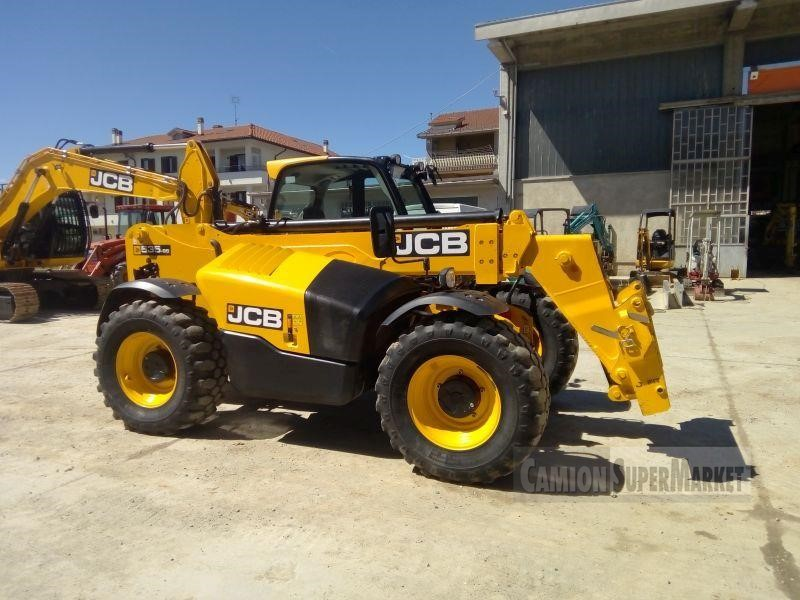 JCB 535-95 AGRI Usato 2016 Piemonte
