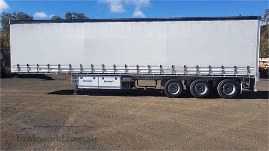 2012 Vawdrey Curtainsider Trailer Trailers for Sale