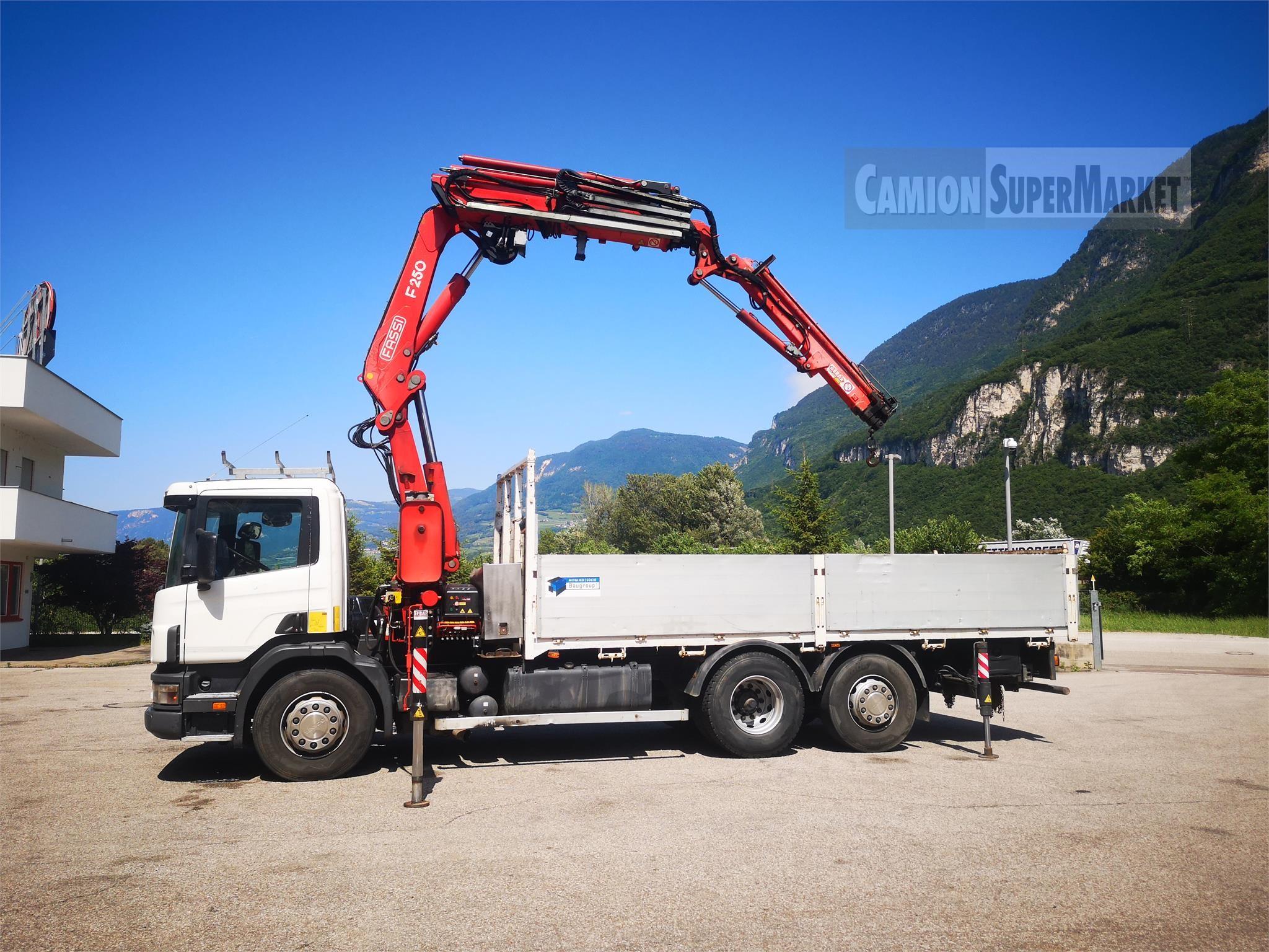 Scania P124L420 used 2000