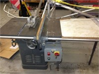 Online Only-Large Band Saw, Table Saw, Planks Auction #866