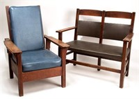 Arts & Crafts including signed Stickley and Limbert