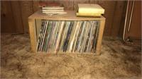 vinyl records, Samsung Tv 330 HDTV, canes, card