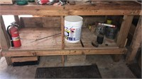 """80"""" Workbench & contents"""