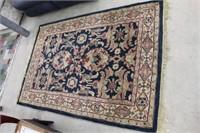 Pattered rug