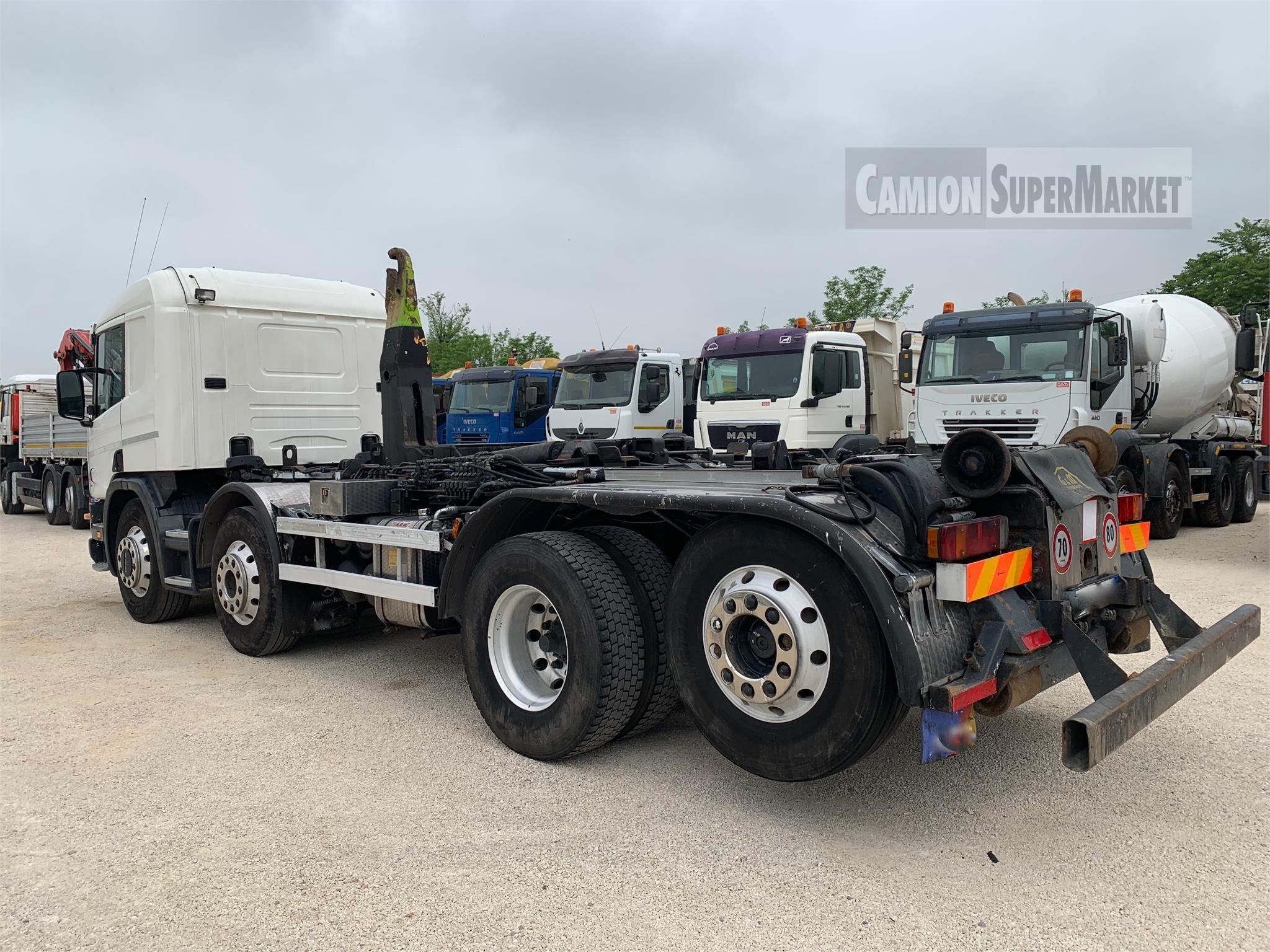 Scania P124.420 used 2001