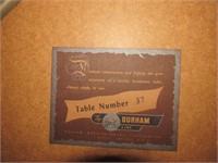 Durham Card Table