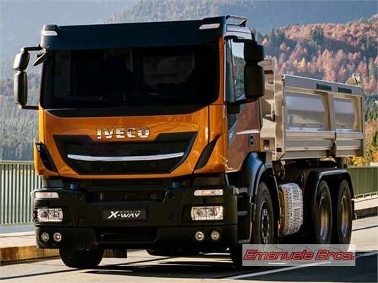 Iveco Stralis X-way 8x4 Rigid AT