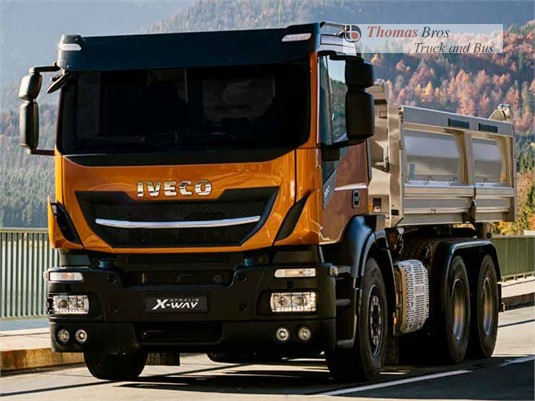 Iveco Stralis X-way 8x4 Rigid AT