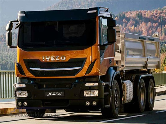 Iveco Stralis X-way 8x4 Rigid AS