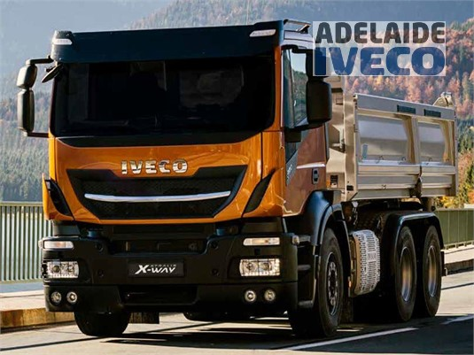 Iveco Stralis X-way 8x4 Rigid AS