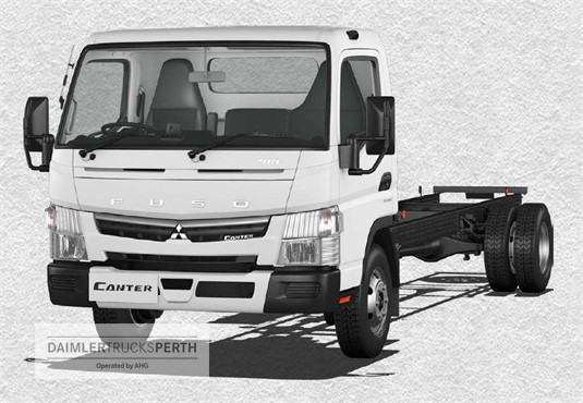 Fuso Canter 918 Wide Cab