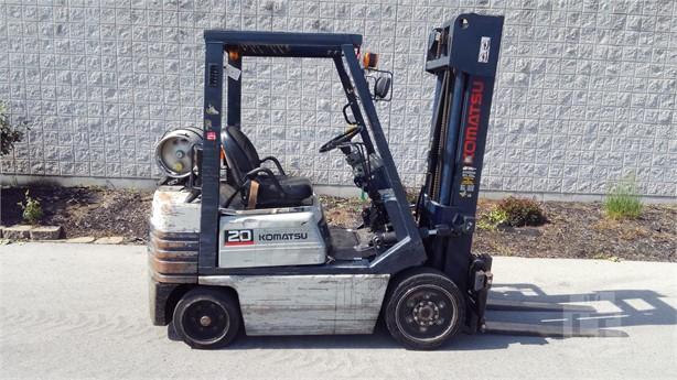 Komatsu Forklift Won T Move