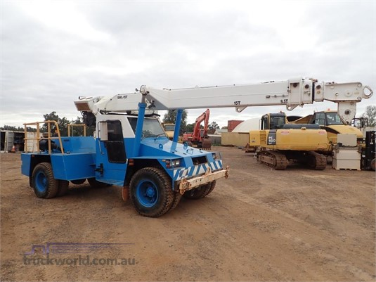 2003 Terex AT15 Cranes & Tailgates for Sale