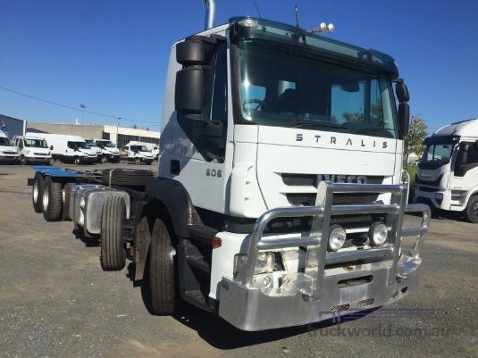 2011 Iveco Stralis AS500 Trucks for Sale