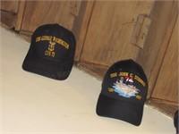 (5) Naval Battle Ship Caps