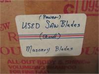 Mason Blades, Power Saw Blades