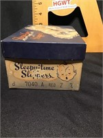 Vintage sleepy time Slippers