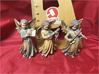 Franco wood carving angel