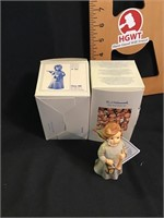 Two Hummel figurines