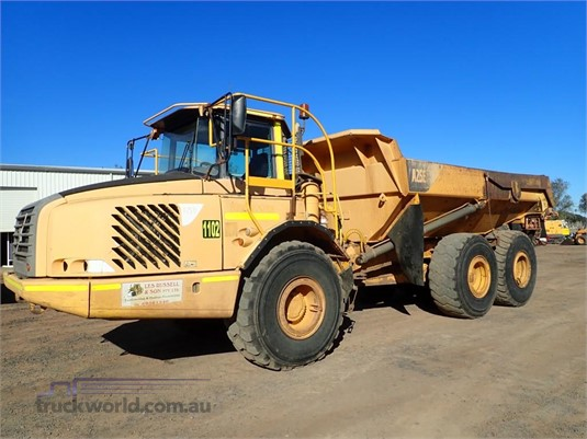 2005 Volvo A25D Heavy Machinery for Sale