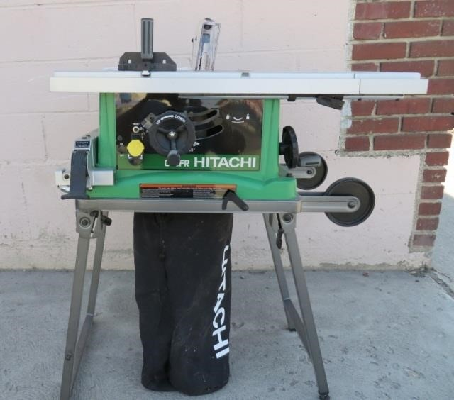 Hitachi 10 Table Saw Model C 10 Fr Job Site Bighorn