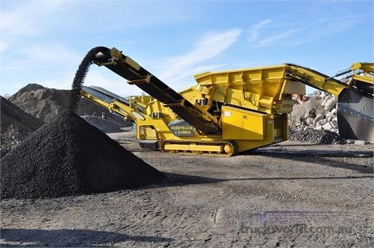 2016 Keestrack K3 Combo Heavy Machinery for Sale